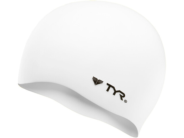 TYR Silicone - Bonnet de bain - No Wrinkle blanc